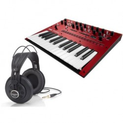 Pack KORG MONOLOGUE RED +...