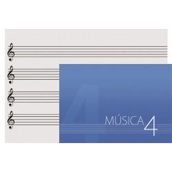 CUADERNO OQAN MUSIC SHEET 4...