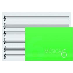 CUADERNO OQAN MUSIC SHEET 6...