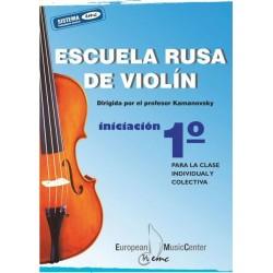ESCUELA RUSA DE VIOLIN Vº1...