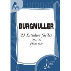 BURGMULLER F. - ESTUDIOS...