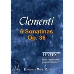 CLEMENTI M. - SONATINAS (6)...
