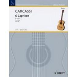 LIBRO SCHOTT MUSIC CARCASSI...