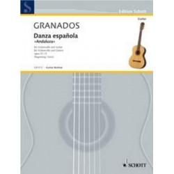 LIBRO SCHOTT MUSIC GRANADOS...