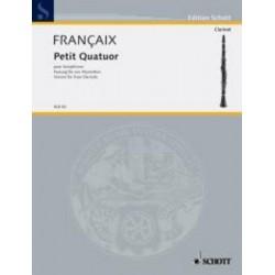 LIBRO SCHOTT MUSIC FRANCAIX...
