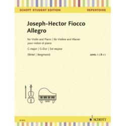 LIBRO SCHOTT MUSIC FIOCCO...