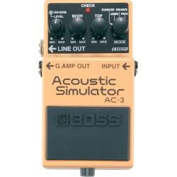 Acoustic Simulator BOSS AC3