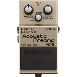 Acoustic Preamp BOSS AD2