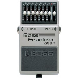 Bass Equalizer BOSS GEB7