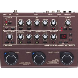 Acoustic Preamp BOSS AD10