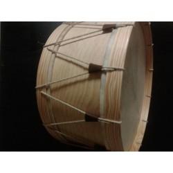 Bombo tradicional gallego pino