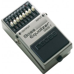 PEDAL BOSS GEB7 BASS EQUALIZER