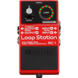 PEDAL BOSS RC1 LOOP STATION